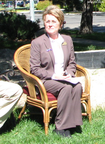 Melodee Hanes is the current girlfriend of Senator Max Baucus