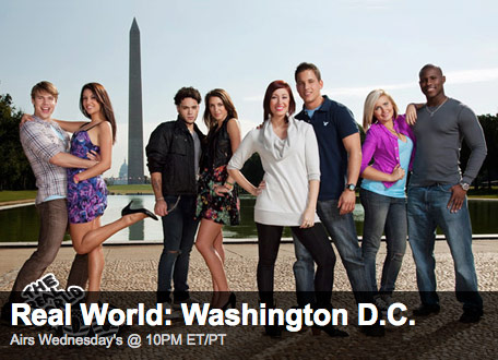 The Real World Washing D.C. kicked off Wednesday night!