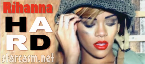Rihanna Hard video graphic from R Rated