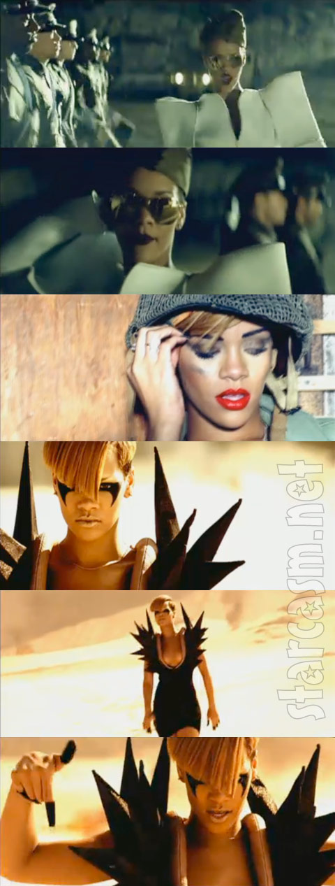 Rihanna goes all Inglourious Basterds in her Hard video