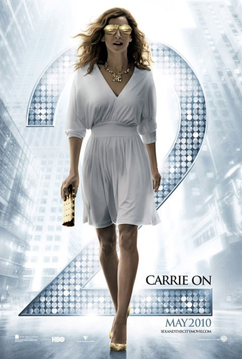 Movie Poster for Sex and the City 2 Carrie On