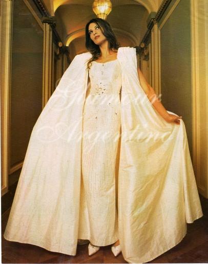 Solange Magnano modeling photo