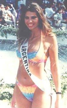 Solange Magnano bikini swimwear pageant photo