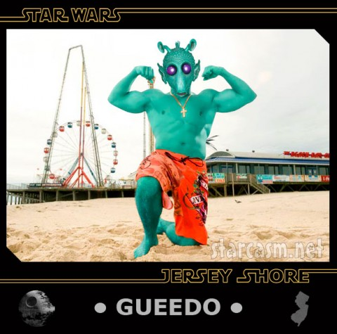 Gueedo is the number one Star Wars Jersey Shore trading card
