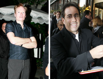 Conan to be replaced by Seinfeld?