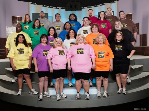 The entire cast of couples from The Biggest Loser Season 9