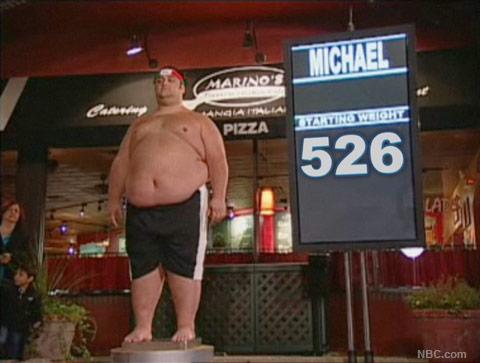 Michael Ventrella kicks off Season 9 of The Biggest Loser weighing in at 562 lbs
