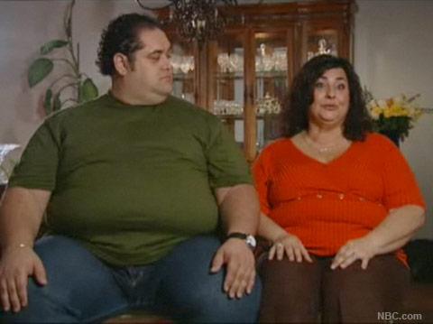 Maria entrella and Michael Ventrella in a Biggest Loser Season 9 interview
