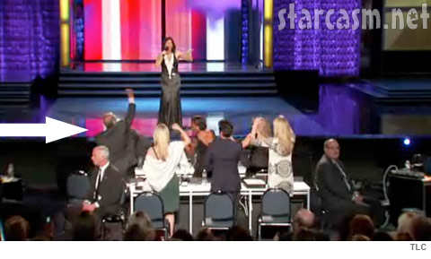 Rush Limbaugh fist pumps to Lady Gaga's Poker Face at Miss America
