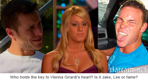 Does Vienna love The Bachelor Jake Pavelka, ex-boyfriend Brian Lee Smith or neither?