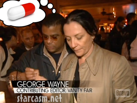 To George Wayne of Vanity Fair everything looks like a pill