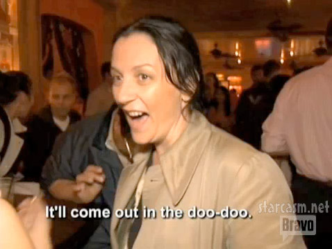 George Wayne tells Kelly Cutrone It'll come out in the doo-doo