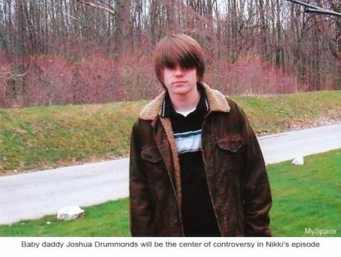 Nikki's boyfriend Josh Drummonds