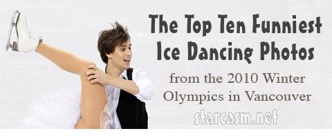 Top Ten Funniest Ice Dancing Photos
