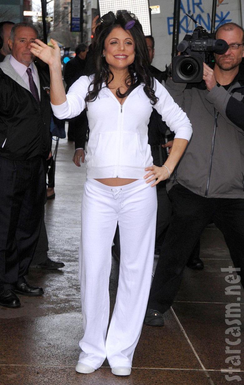 Bethenny Frankel arriving for her New York City wedding
