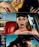 Lady Gaga's Telephone music video features Beyonce and the P*ssy Wagon