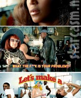 Lady Gaga Beyonce and Tyrese Gibson star in the Telephone music video