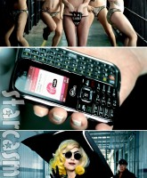 Lady Gaga photos from the Telephone music video featuring Beyonce