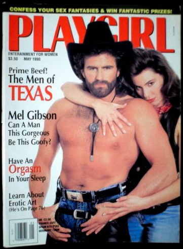 Countess LuAnn De Lesseps on the cover of Playgirl magazine