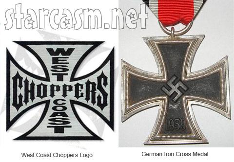 did jesse james and west coast choppers use nazi symbolism
