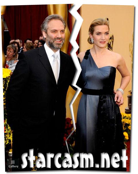 Kate Winslet and husband Sam Mendes split