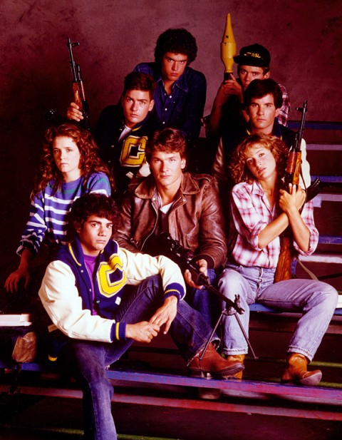 "Original ""Wolverines"" promotional poster"