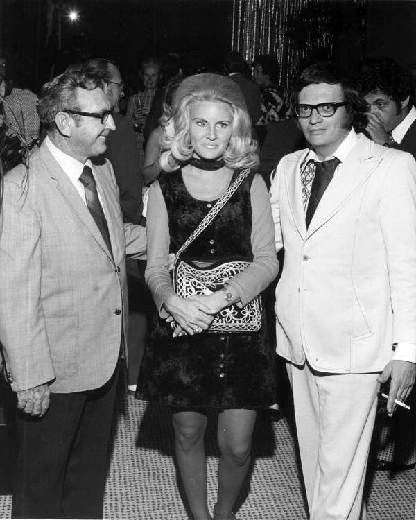 Alene Akins and Larry King