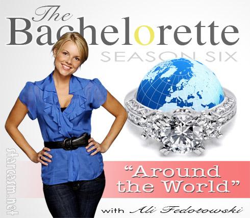 Ali Fedotowsky Bachelorette Around the World logo