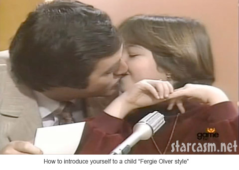 Fergie Olver introducing himself on Canadian game show Just Like Mom