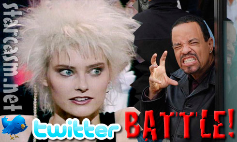 Aimee Mann and Ice T engaged in a Twitter battle!