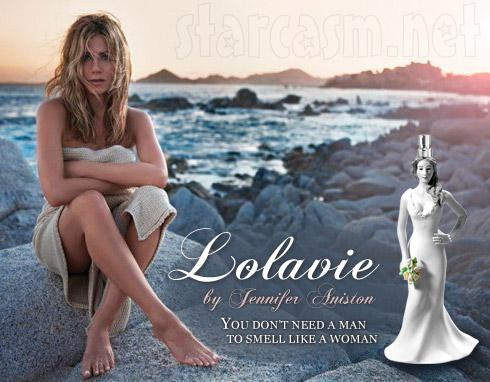 Jennifer Aniston ad for new perfume Lolavie