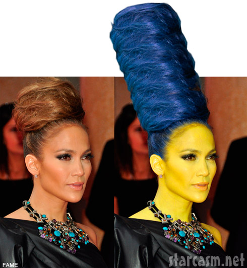 Jennifer Lopez As Marge Simpson