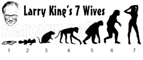 Larry King's 7 wives