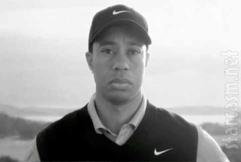 Tiger Woods from the new Nike commercial