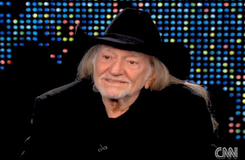 Willie Nelson on Larry King Live