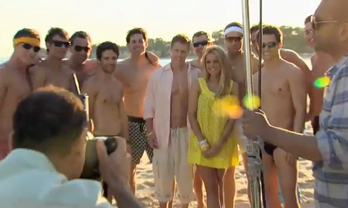 The Bachelorette Speedo calendar shoot