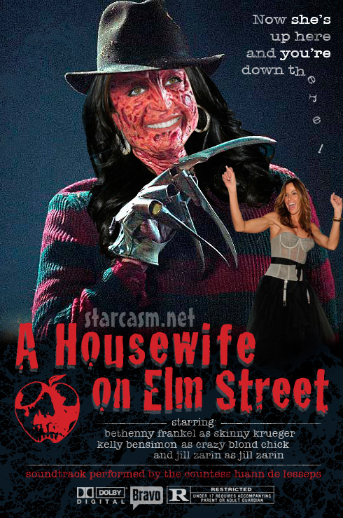A Housewife On Elm Street starring Bethenny Frankel and Kelly Bensimon