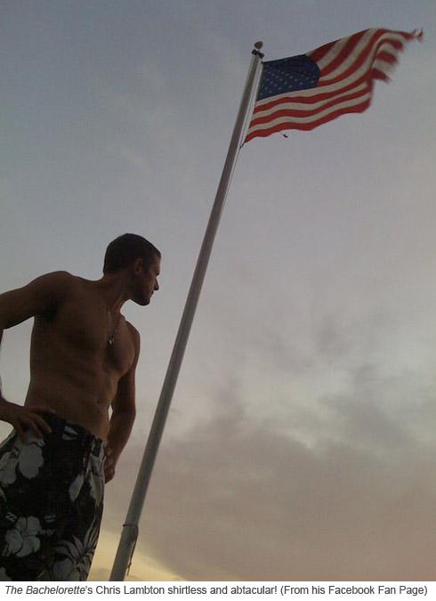 The Bachelorette's Chris Lambton video shot by the Cape Cod