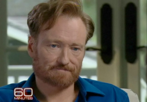 Conan O'Brien's 60 Minutes interview