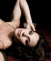 Countess LuAnn de Lesseps strikes a sexy pose