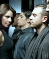 "Countess LuAnn and her men from ""Money Can't Buy You Class"" video"