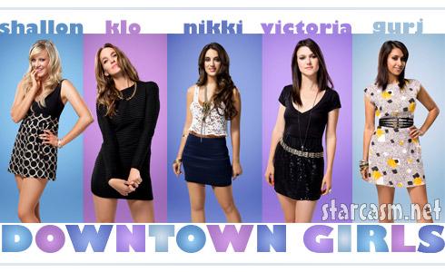 Downtown Girls Shallon, Kio, Nikki, Victoria and Gurj