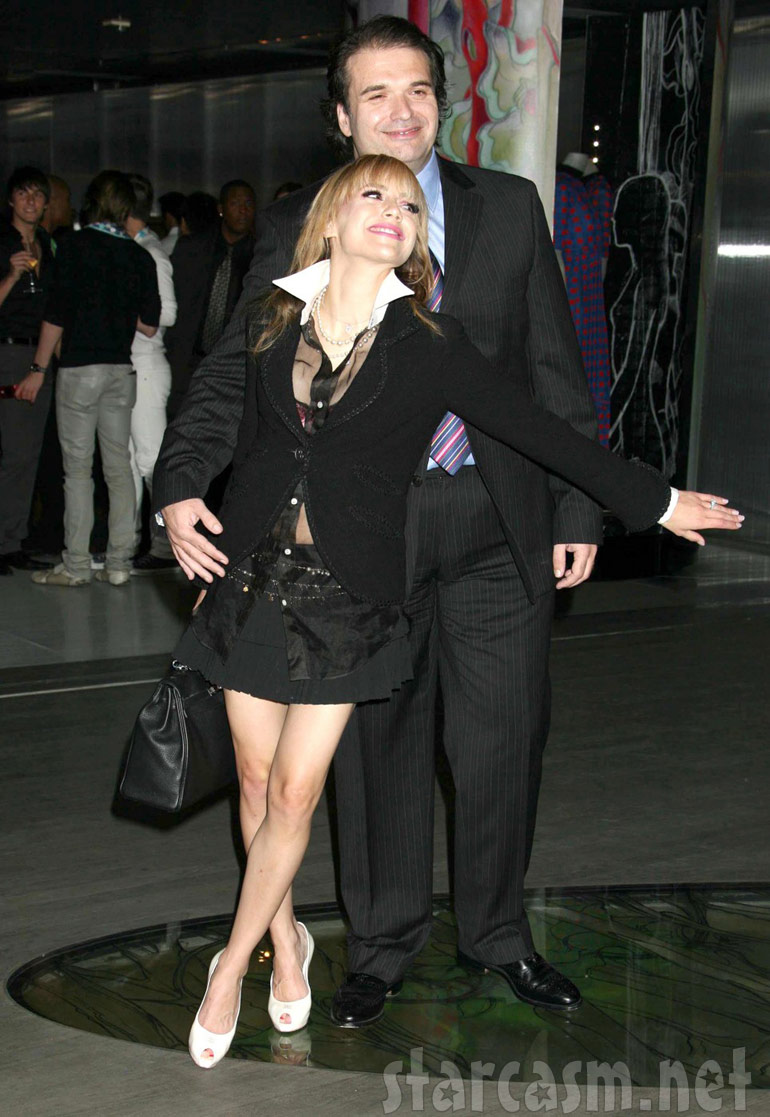 """Simon Monjack and Brittany Murphy at the """"Trembled Blossoms"""" screening in 2008"""