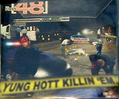 CD artwork from Griffin rapper Yung Hott's CD Killin 'Em