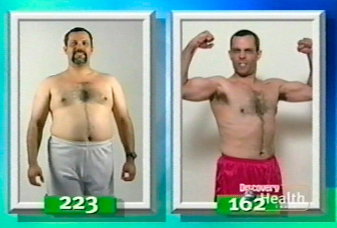 Juan-Carlos Cruz's before and after weight loss photo from Body Challenge