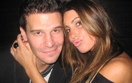 David Boreanaz and Rachel Uchitel