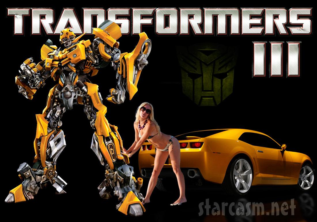 Transformers 3 starring Heidi Montag
