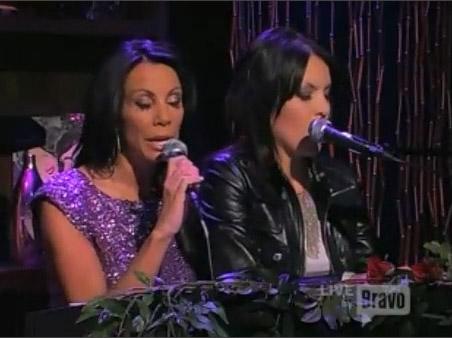 Danielle Staub and Lori Michaels