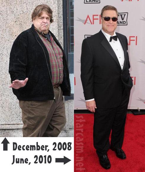 John Goodman before and after weight loss photos