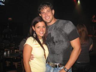 Ty Brown and his ex-wife Lindsey Grant
